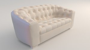 sofa upholstery 3D model