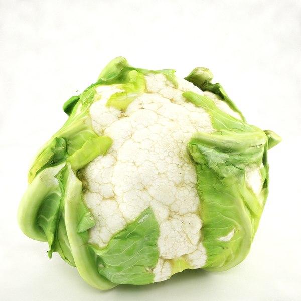 3ds cauliflower leafs