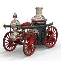 obj steam engine clapp jones