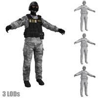 3d model of swat 2