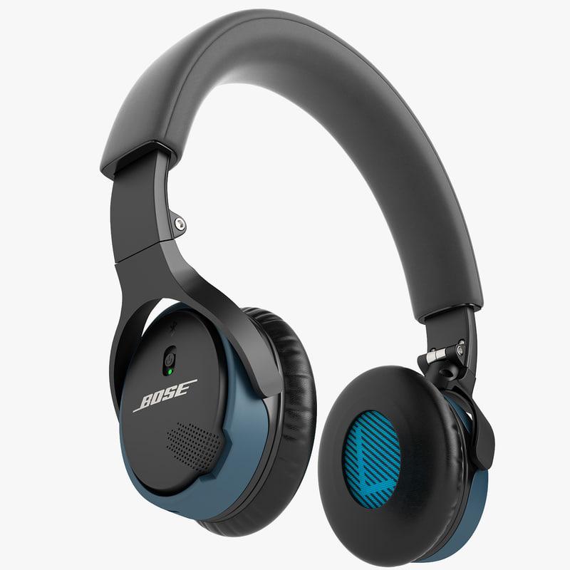 bose soundlink on-ear 3ds
