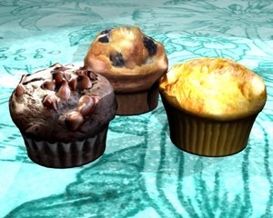 blend muffins