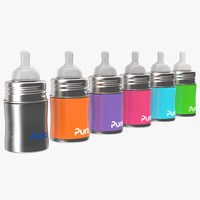 Pura Kiki Insulated Infant Bottle 5OZ 4 in 1