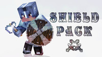 3d c4d minecraft shield pack