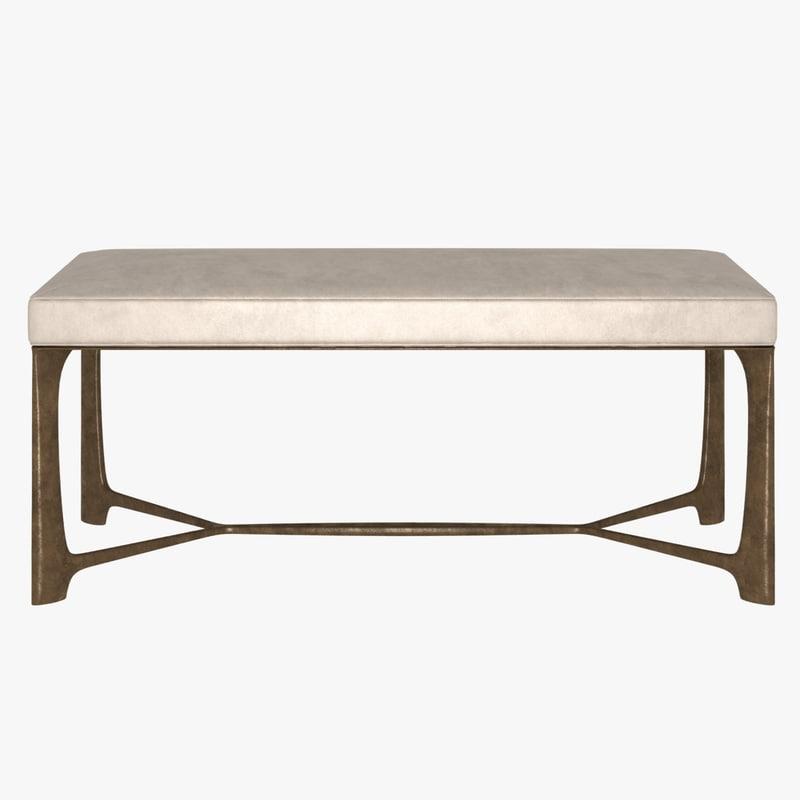 bench xy 3d model