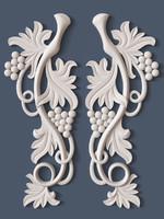 decorative scroll 3d max
