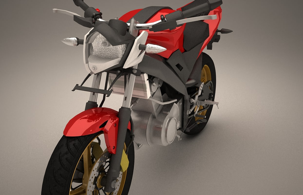3d model of yamaha modify