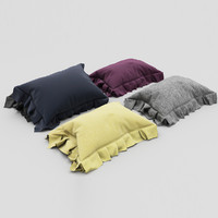 pillows color 01 3d max