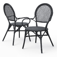 ALMSTA wicker Dining chair