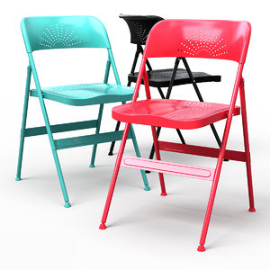 3d max frode folding dining chair
