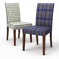 HENRIKSDAL Dining chair Rutna Multicolour