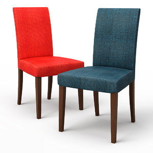 3d model of henriksdal skiftebo dining chair
