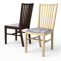3d norrnas dining chair oak