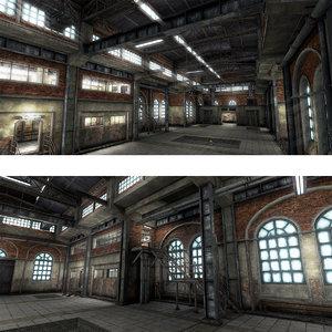 max warehouse factory interior