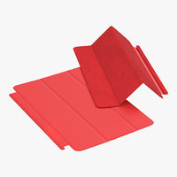 Apple Smart Cover Mini Red 3D Model