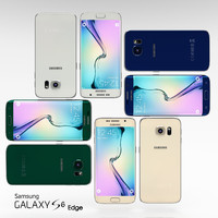 3d model pack samsung galaxy s6