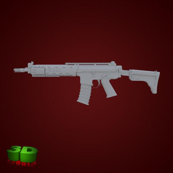 3d model ak5c 5 c