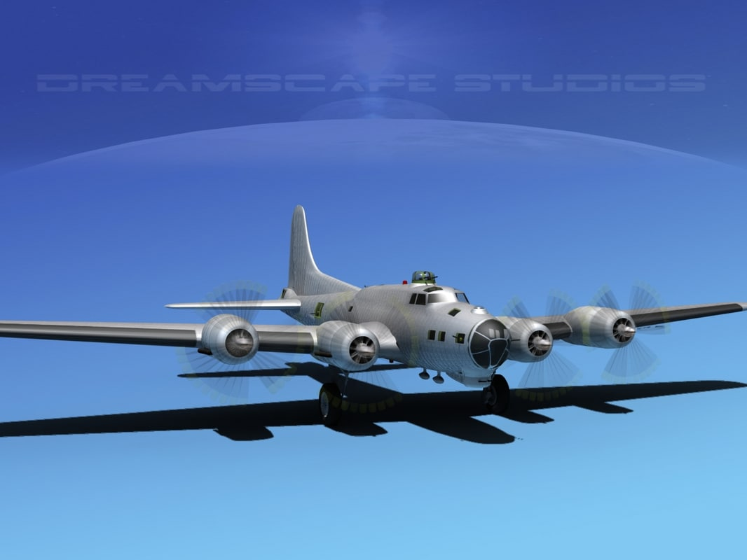 max b-17 hp boeing bomber