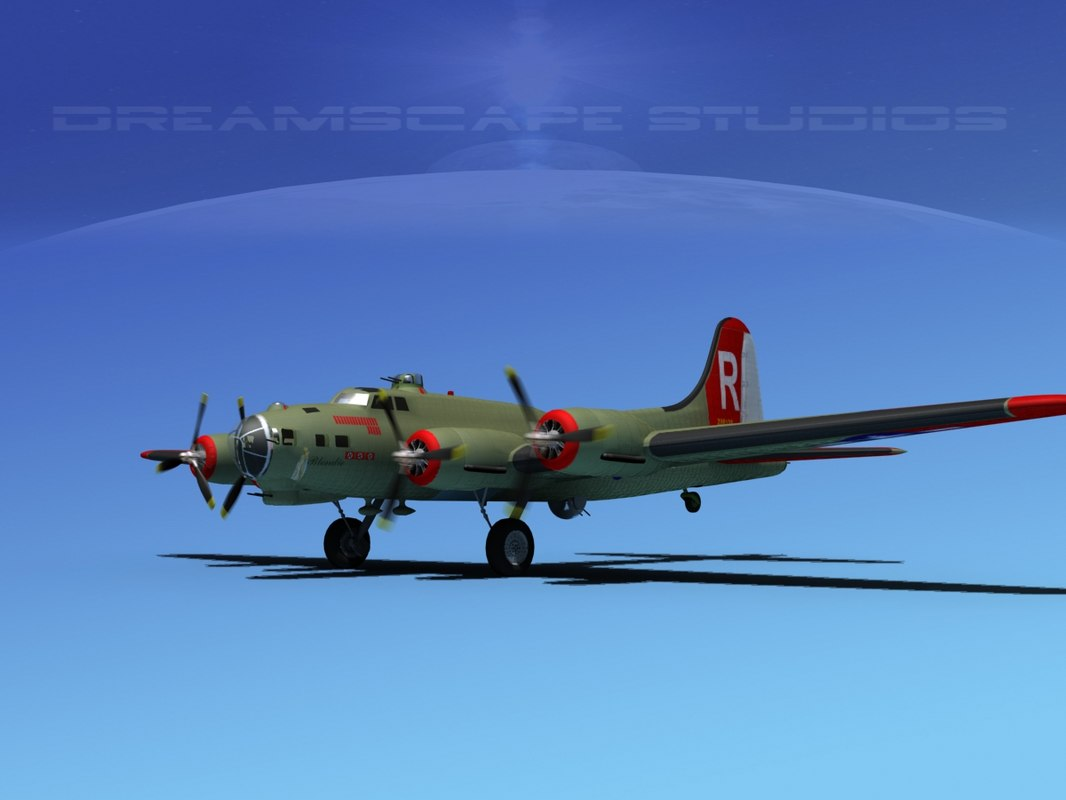 ma b-17 hp boeing flying fortress