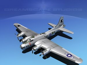 3ds b-17 hp boeing flying fortress