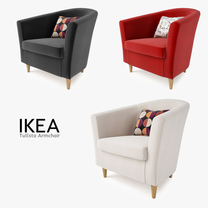 & 3d ikea tullsta chair seat