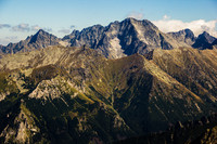 Tatra Mountains - View from Zadni Granat