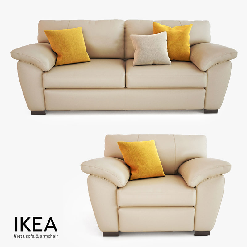 vreta sofa bed for ikea vreta cream leather 3 seater sofa swivel thesofa. Black Bedroom Furniture Sets. Home Design Ideas