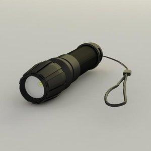 3d ultra light torch model