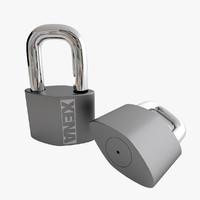 3d cadenas lock model