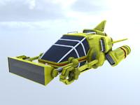 3d thunderbird old international model