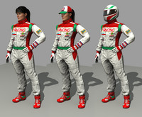 racing driver female