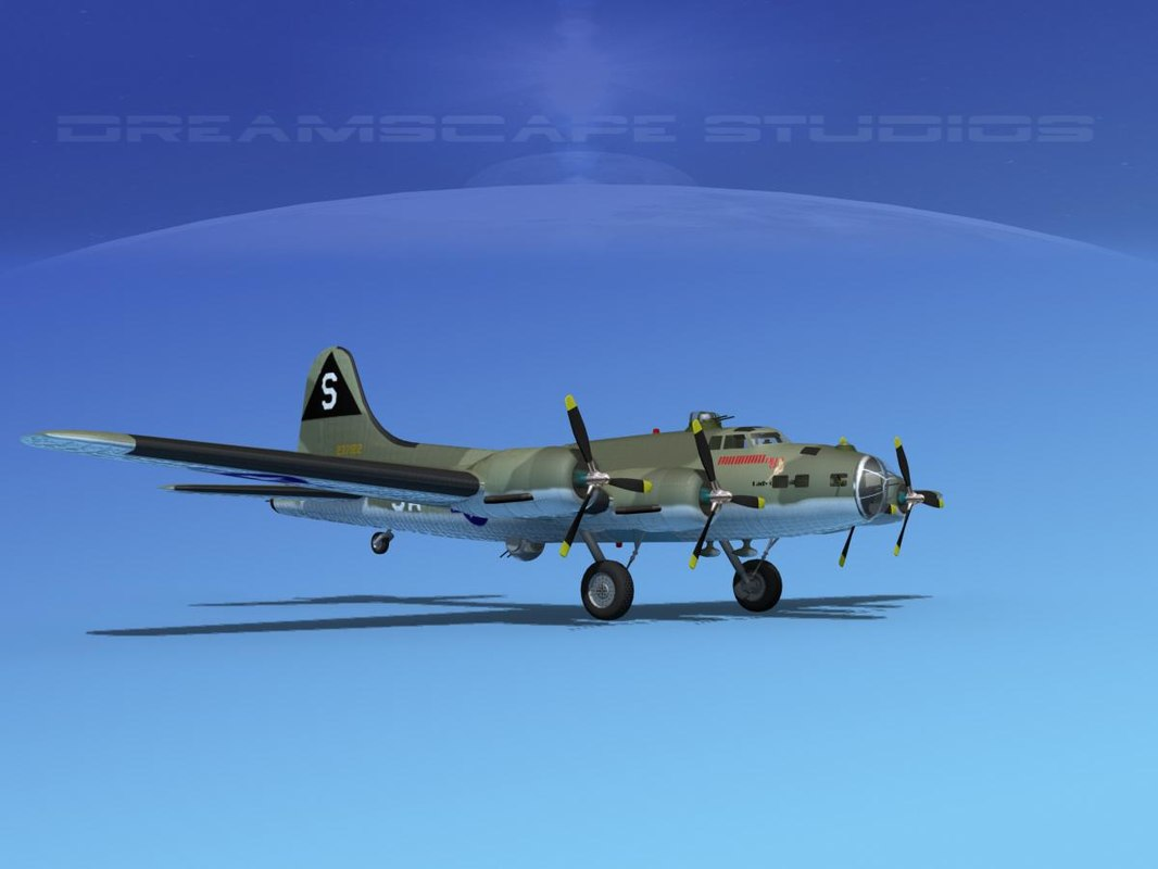 max b-17 boeing flying fortress