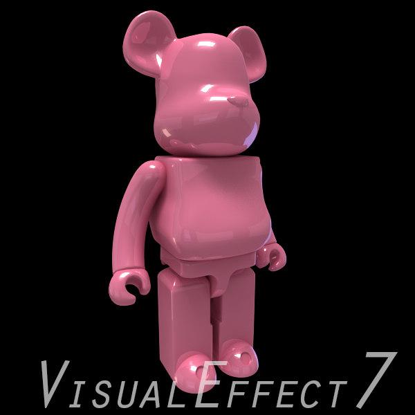 brick pink 3d model