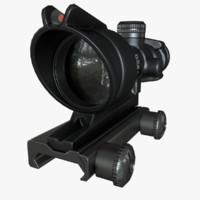 3d asset acog scope