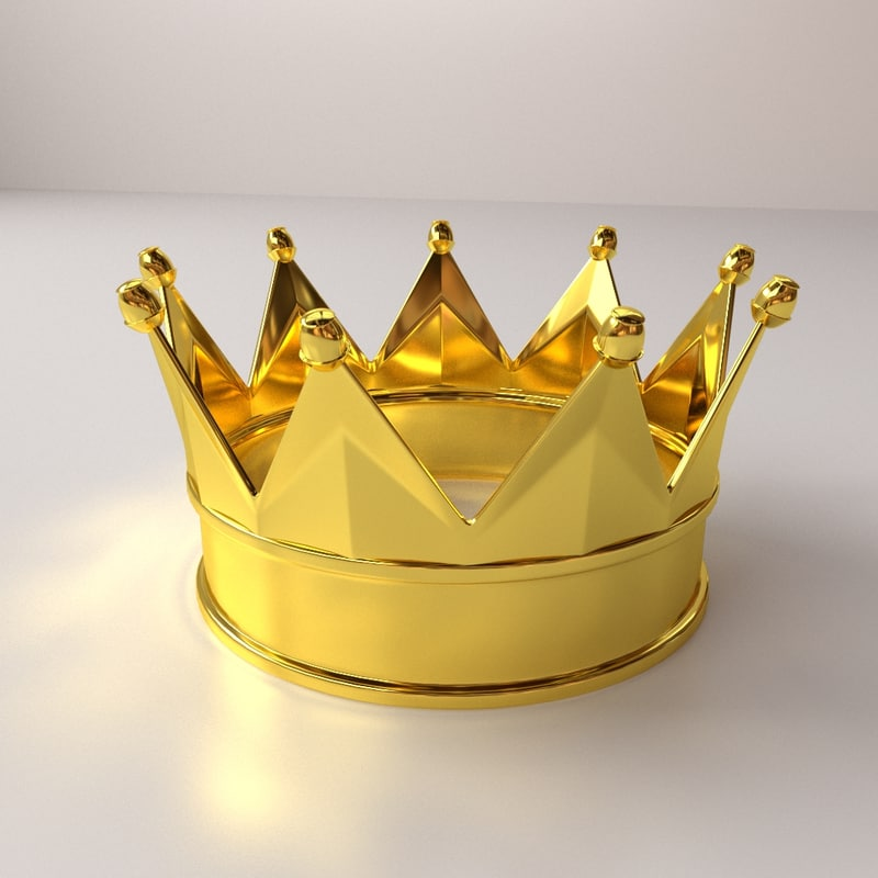 3dsmax crown