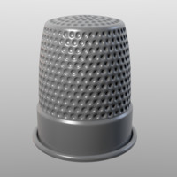 Thimble (High Poly)