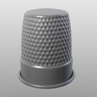 Thimble (Low Poly)