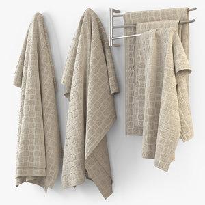 3ds max towel cloth fabric