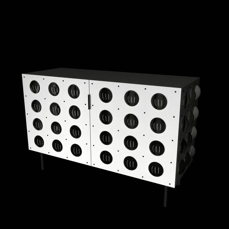 ralph pucci spinoza chest 3d max