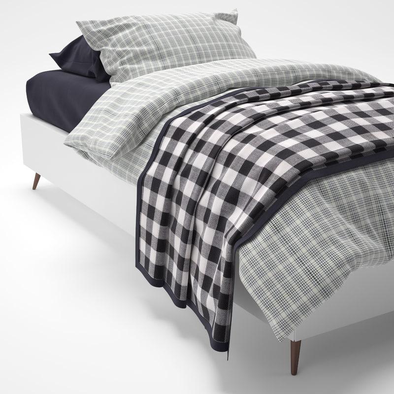 3d boconcept lugano bed