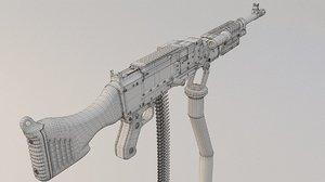 3D gun m240 m