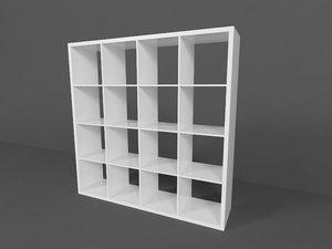 shelving unit 3d max
