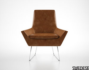 swedese happy easy chair max