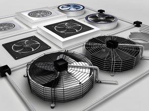 fans 3d max