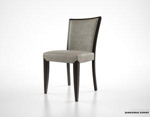 3d sangiorgio export nobilis chair