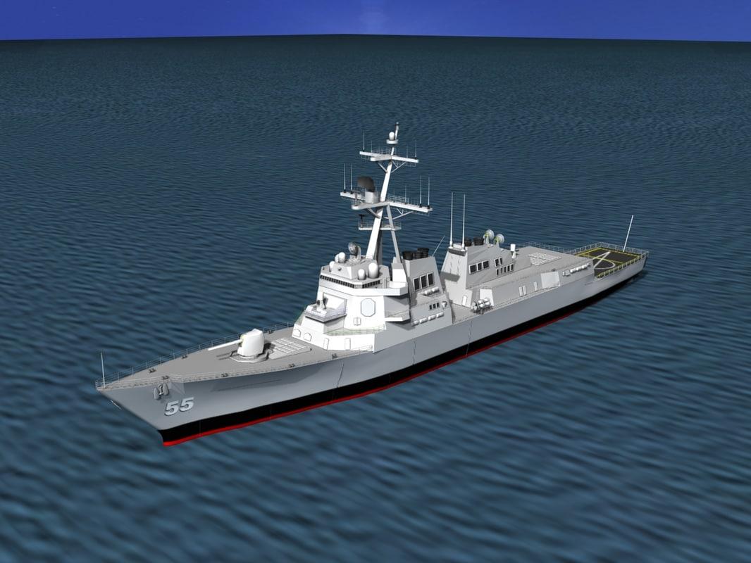 ship arleigh burke class dwg