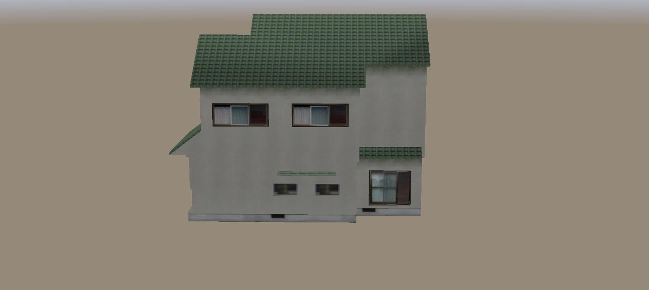 buildings japanese house 3d model