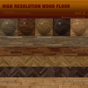 High Resolution Wood Floor Vol.2