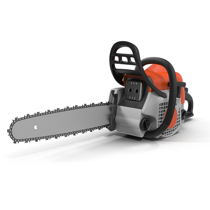 3d chainsaw saw model