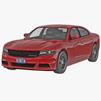 3d dodge charger 2015